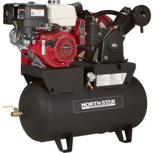 NorthStar Portable Gas-Powered Air Compressor - Honda GX390